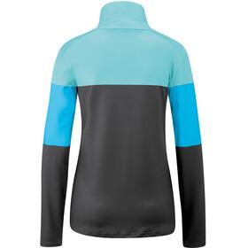 Maier Sports Jolala Couche intermédiaire Micropolaire Femme, blue stripe
